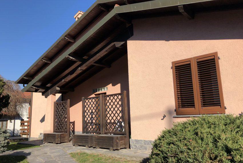 ingresso villa singola Lurago d'Erba
