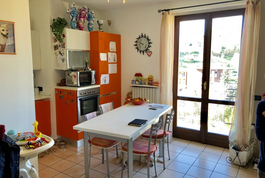 zona pranzo attico in vendita in Nibionno