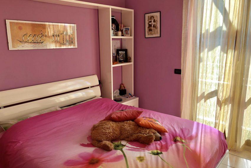 camera matrimoniale attico Nibionno