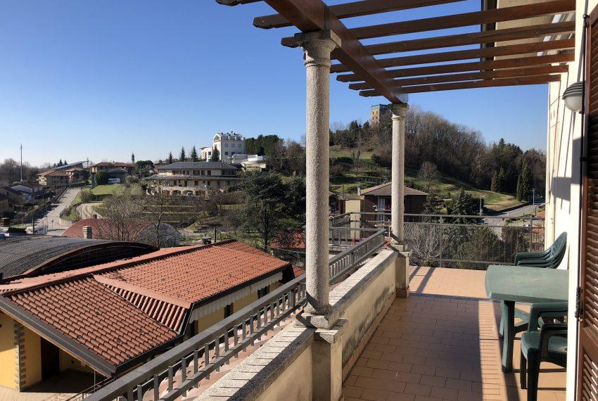 panorama dal terrazzo con vista