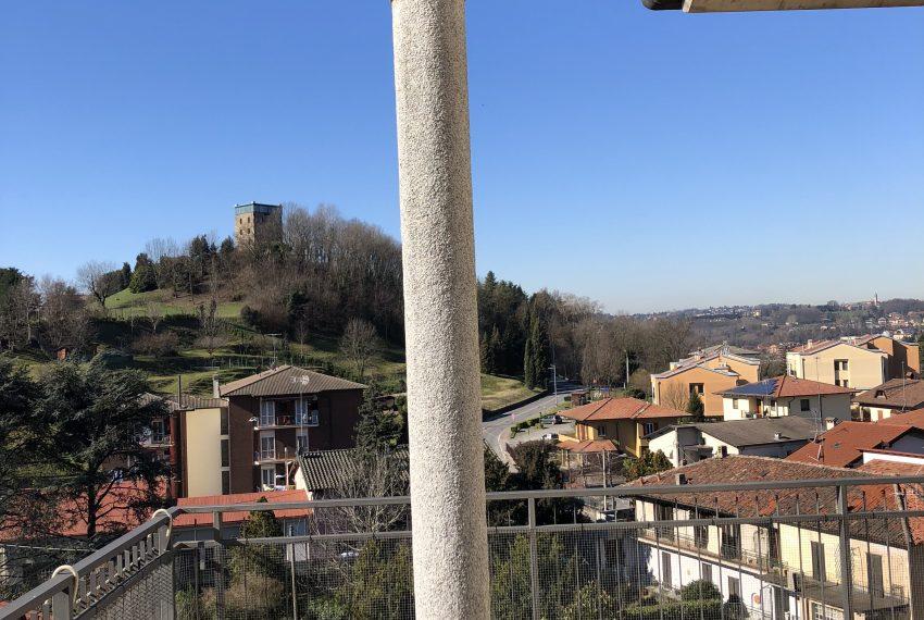 vista dal terrazzo panoramico con pergolato