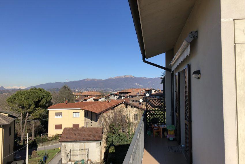 terrazzo con panorama Attico in vendita Nibionno