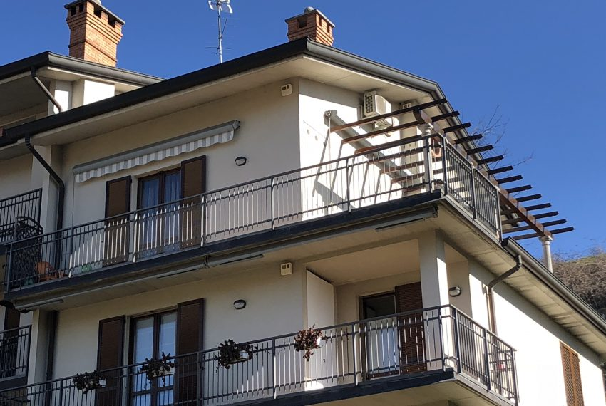 vista dell'attico e del terrazzo panoramico