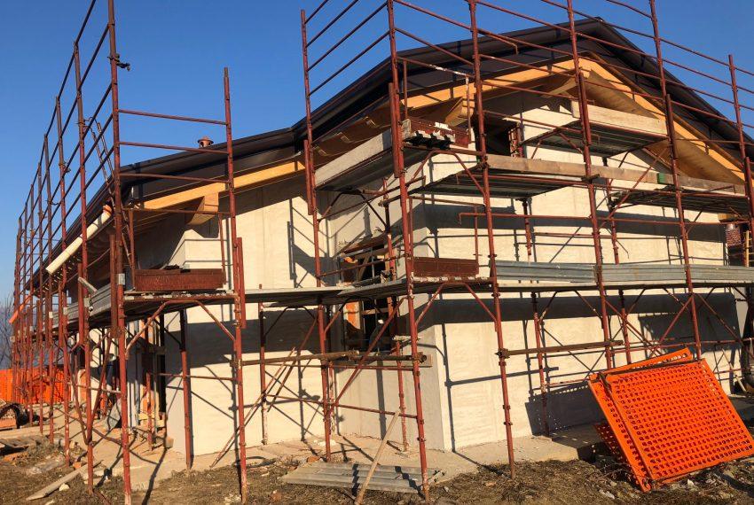 Villa nuova costruzione dettaglio
