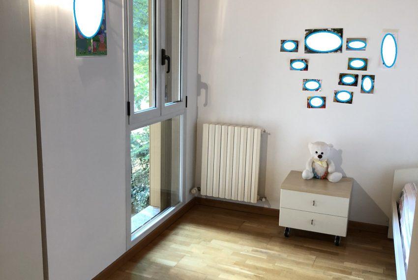 camera singola luminosa ed ampia villetta a schiera Palazzago