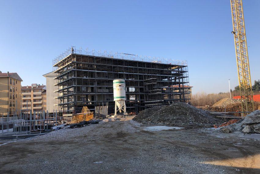 quadrilocale Concorezzo nuova costruzione stato avanzamento lavori