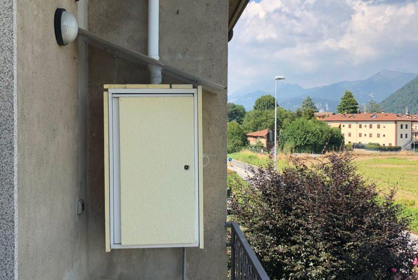 balcone con caldaia autonoma piano primo