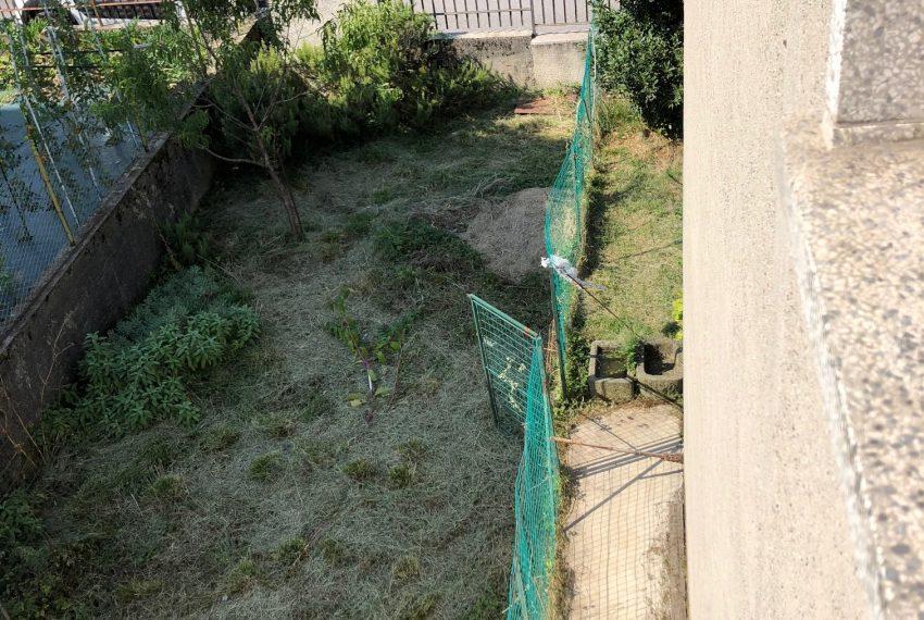 parte del giardino visto dall'alto