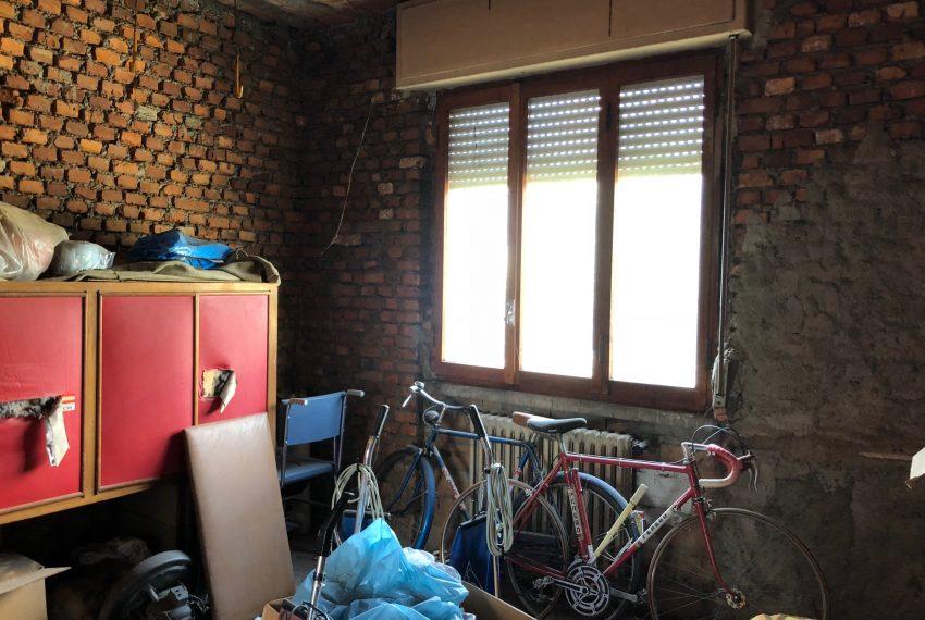 seconda camera dell'appartamento rustico