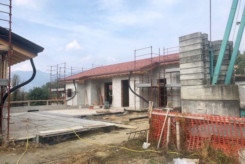 villa singola a Oggiono nuova costruzione su unico livello