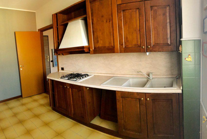 cucina abitabile parete cottura