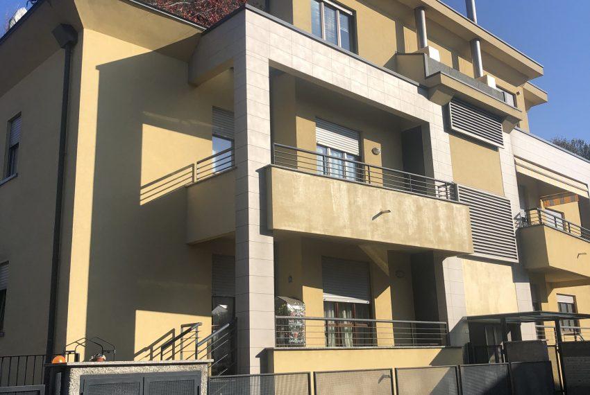 trilocale con giardino Mariano Comense complesso residenziale