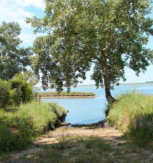 Isola privata in vendita vista