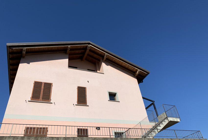 vista esterna della palazzina