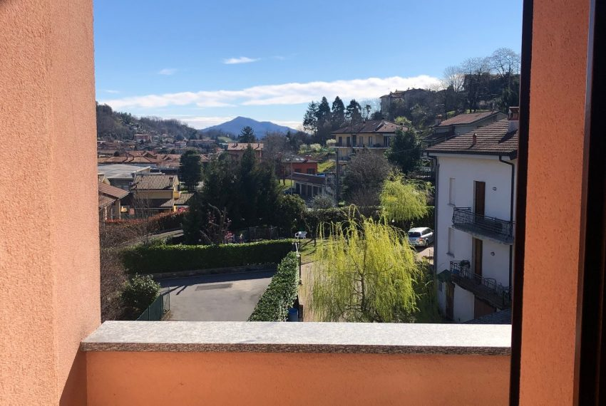 vista dal terrazzo della camera singola