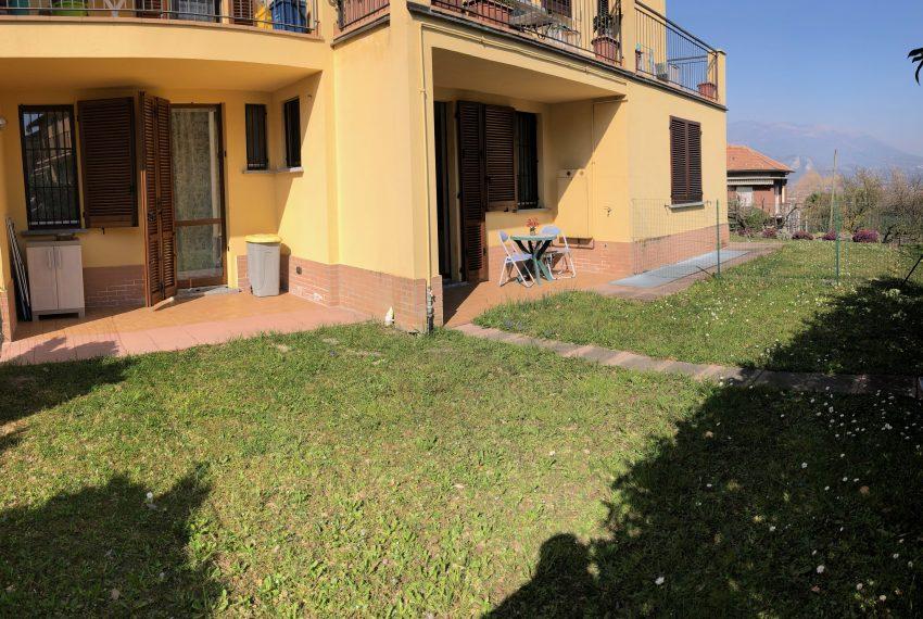 giardino con doppio portico loggiato