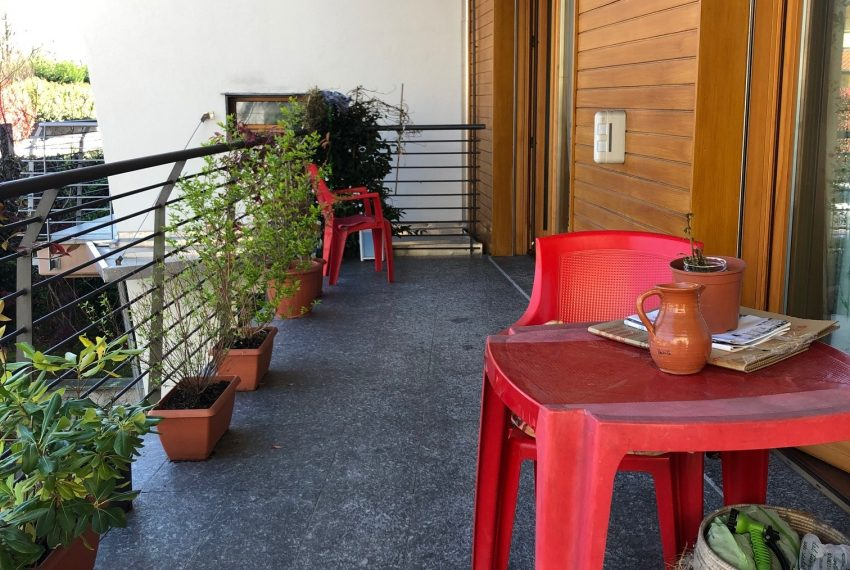 ampio e vivibile terrazzo