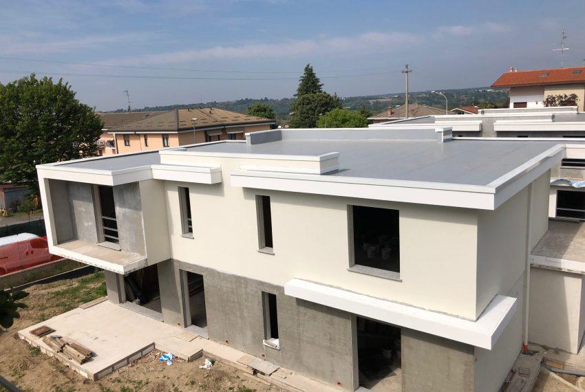 nuova villa architettura moderna