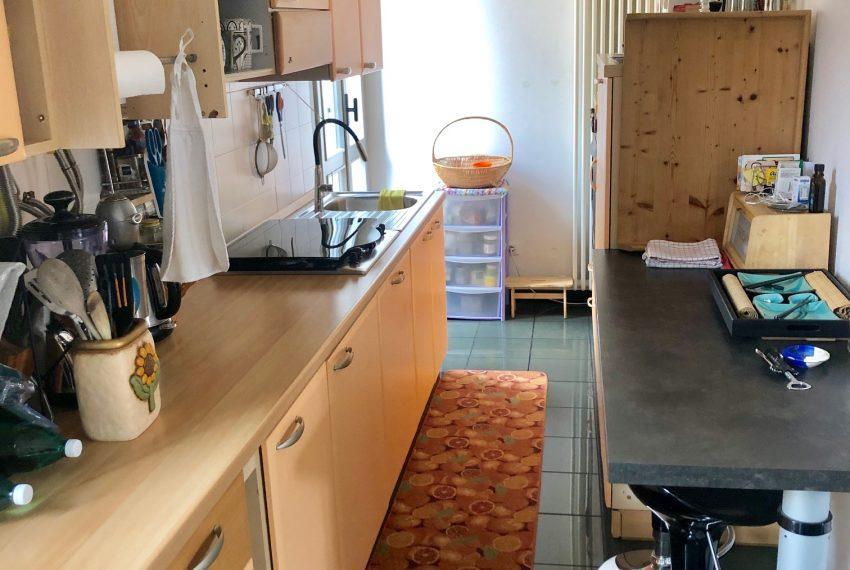 cucina a vista dettagli