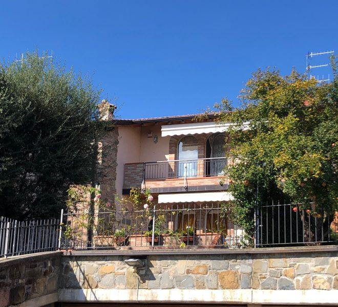 meravigliosa facciata della villa
