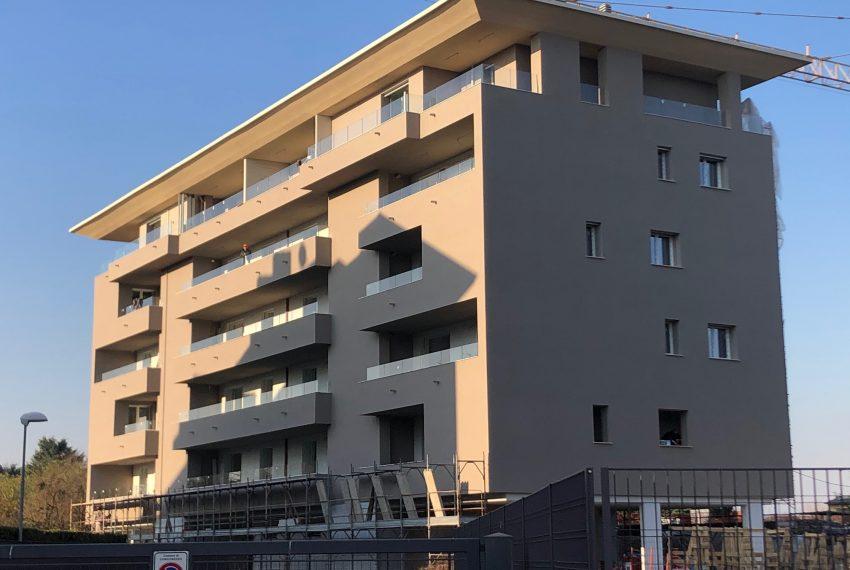 facciata Residenza Monte Cervino