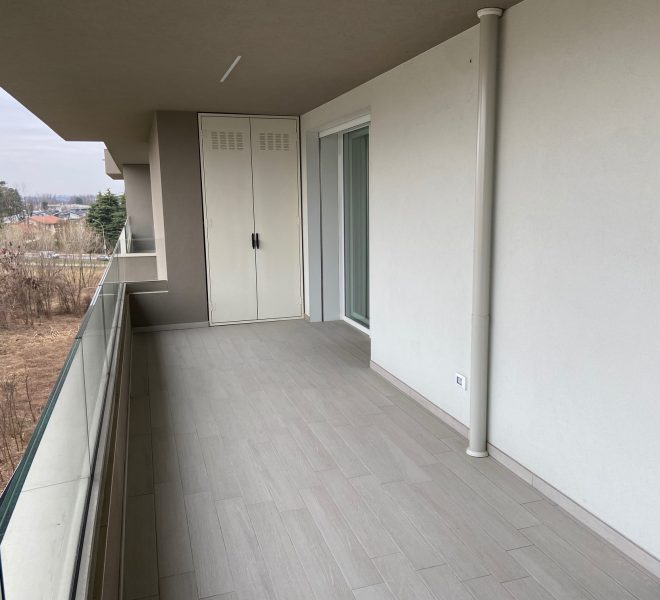 ampio terrazzo loggiato