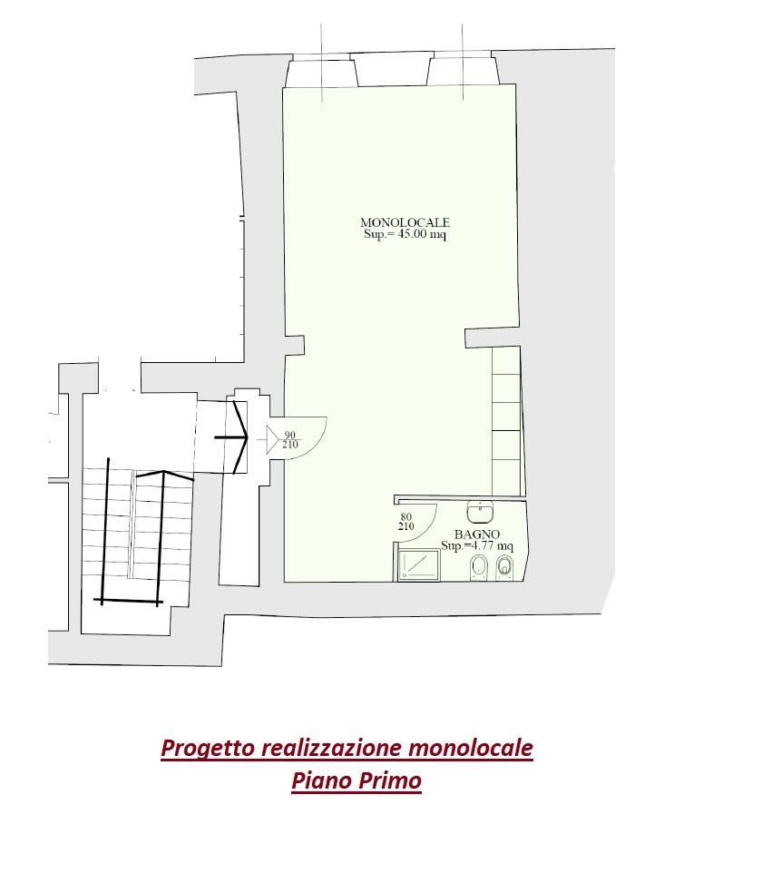 Progetto Appartamento 50 Mq appartamenti da ristrutturare a caprino bergamasco centro