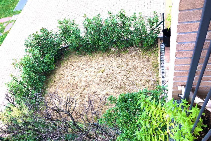 scorcio giardino dal terrazzo vivibile