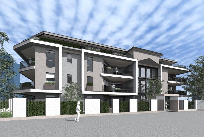 Residenza Le Terrazze progetto facciata