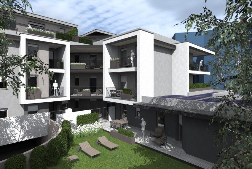 Residenza Le Terrazze dettaglio progetto