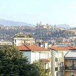 la splendida vista su Città Alta