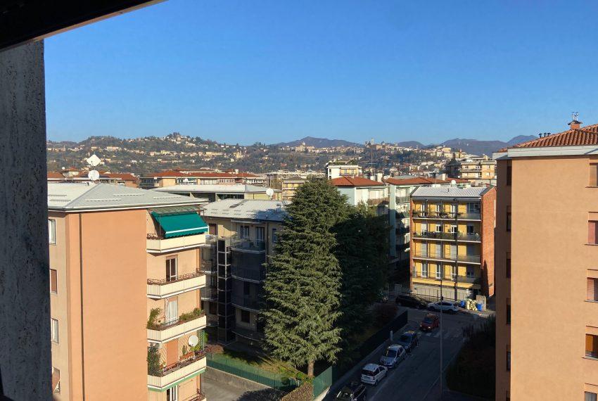 vista su Bergamo Alta
