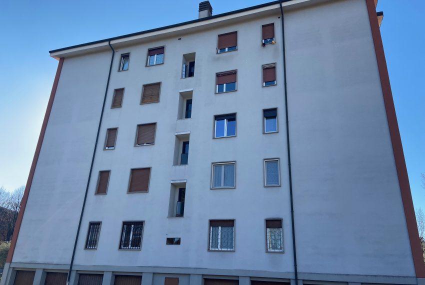 facciata retrostante